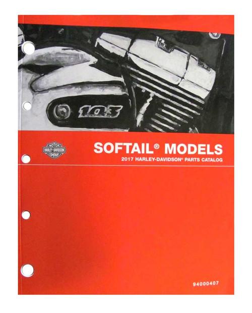 Harley-Davidson® 2017 Softail Models Motorcycle Service Manual 94000382