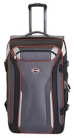 "Harley-Davidson® 25"" Thunder Road Pullman Wheeling Luggage, Gray/Black 99326-GB"