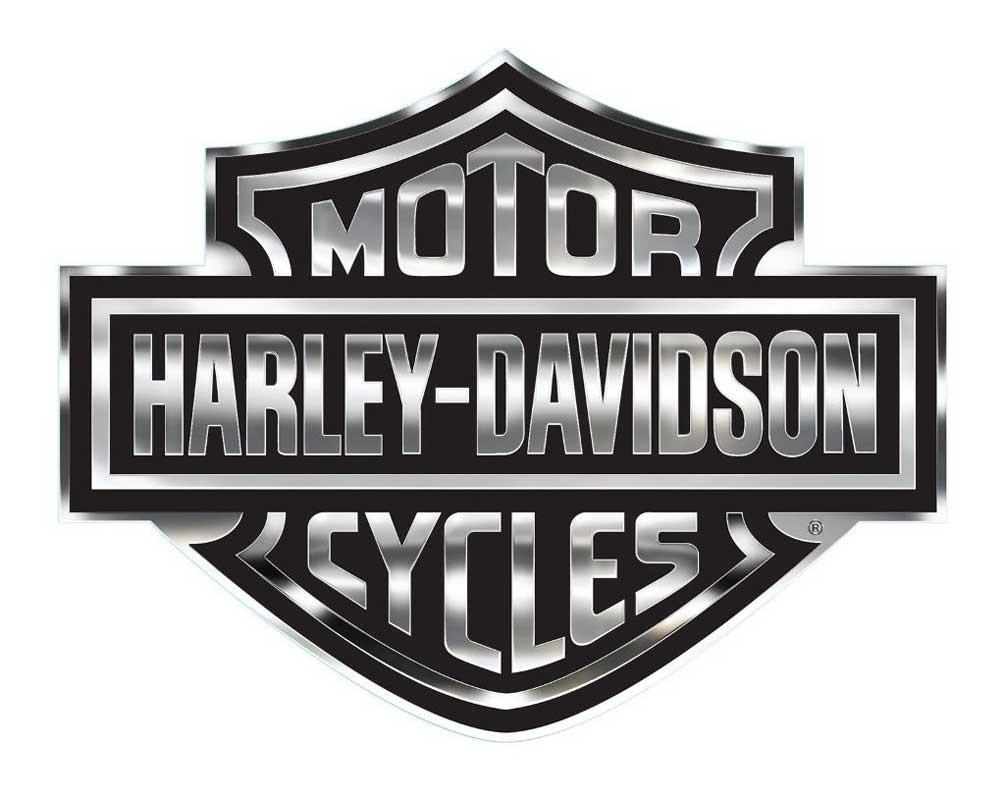 harley davidson u00ae decal  chrome bar   shield logo  x large bar and shield logo air cleaner cover hd bar and shield logo windshield trim