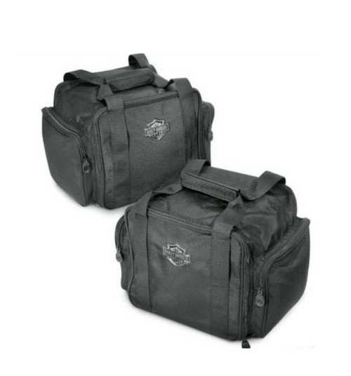 Harley-Davidson® Bar & Shield Zippered Trunk Travel Packs, Set of 2 83847-09 - A