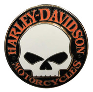 Harley-Davidson® Iconic Willie G Skull Logo Pin On Pin, 1.25 x 1.25 inch 64261-4