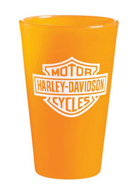 Harley-Davidson® Silipint Cup, Silicone Bar & Shield 16 oz. Pint, Orange 2SP4900 - A