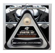 Harley-Davidson® Pool Table Starter Set: Rack, Cue & Table Brush HDL-10147