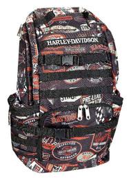 Harley-Davidson® Night Ops Stellar Backpack, Black 99214-VINTAGE - A