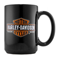 Harley-Davidson® Trademark Bar & Shield Logo CeramicCoffee  Mug 15 oz, 99213-16V