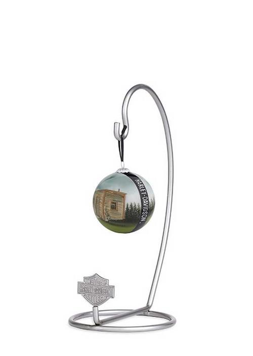 Harley-Davidson® Bar & Shield Ornament Hanger Hook, Silver. 96825-15V