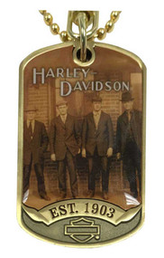 Harley-Davidson® Originals Dog Tag, Est 1903 Bar & Shield, Chain/Key Ring 8003463 - A