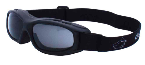 Guard-Dogs Evader I Motorcycle Dry Eye Goggles, Smoke Lens/Matte Black 054-12-01
