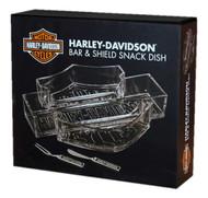 Harley-Davidson® Bar & Shield Snack Dish Set HDL-18533 - A
