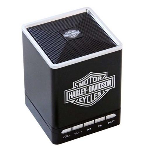 Harley-Davidson® Bar & Shield Portable Bluetooth Speakers w/ Speakerphone 6861