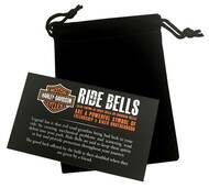 Harley-Davidson® Bar & Shield Piston Silver Ride Bell HRB022