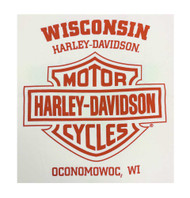 Harley-Davidson® Men's Short Sleeve T-Shirt, Eagle Bones Graphic Tee, Cream
