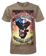 Harley-Davidson® Men's T-Shirt, Colorful American Legend Short Sleeve Tee, Coco