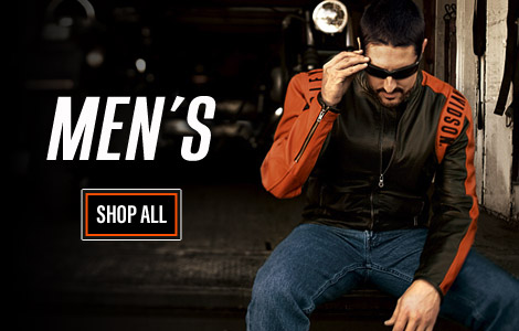Mens Harley-Davidson Clothing and Gear