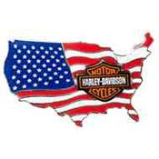 Harley-Davidson Pins and Magnets