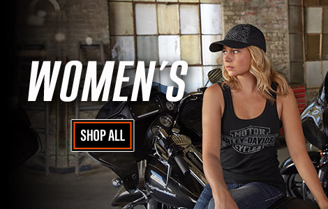 Womens Harley-Davidson Clothing and Gear