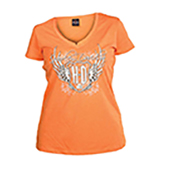 Harley-Davidson Women's T-Shirts, Longsleeve Tees, Shortsleeve Tees