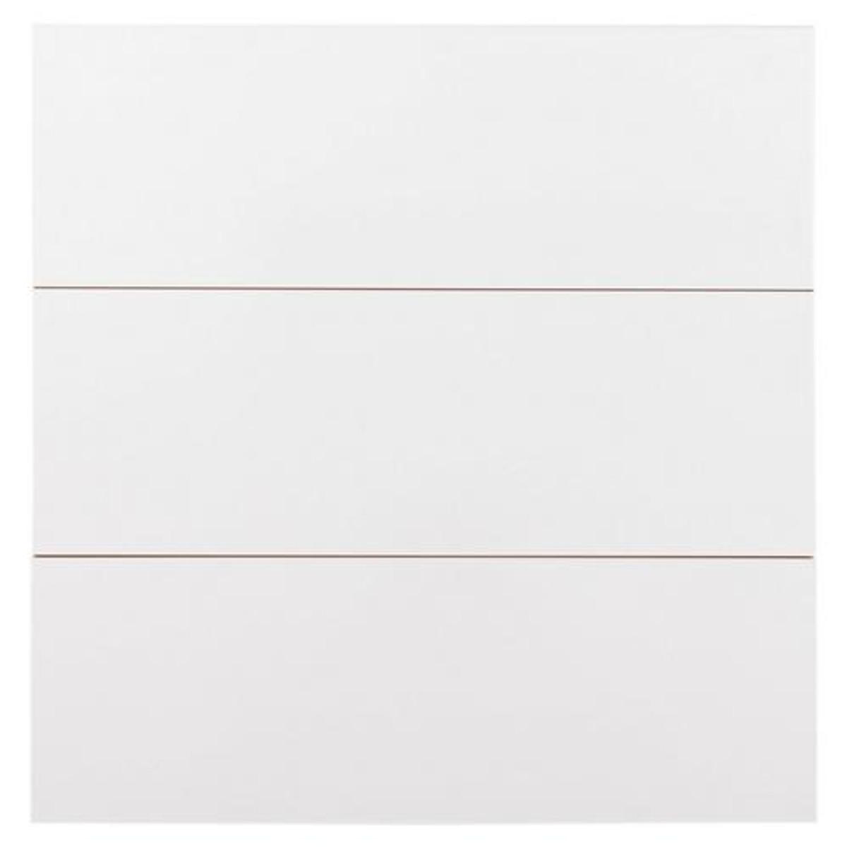 Ice White Gloss 6x18