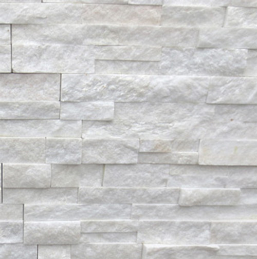 Arctic White 6x24 Ledgerstone Panels