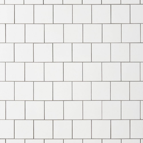 Ice White Matte 4x4 Ceramic Wall Tile