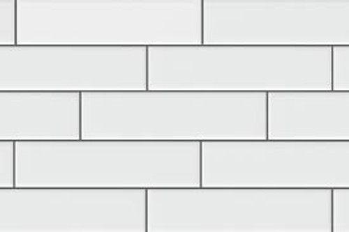 Ice White Gloss 2x8 Subway Tile