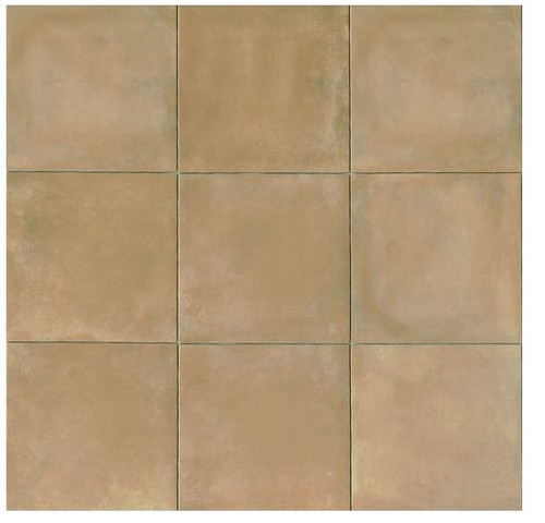 Terra Cotta Tiles 14x14 Matte Finish Cotto Field Tile Cerdena ( Beige )