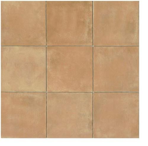 terra cotta 14x14 gloss finish cotto field tile cerdena beige