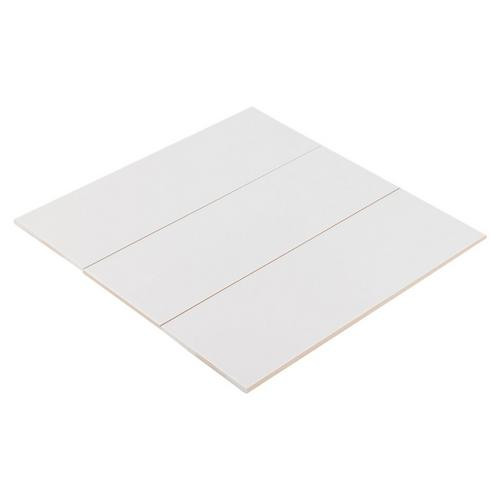 Ice White Matte 6x18