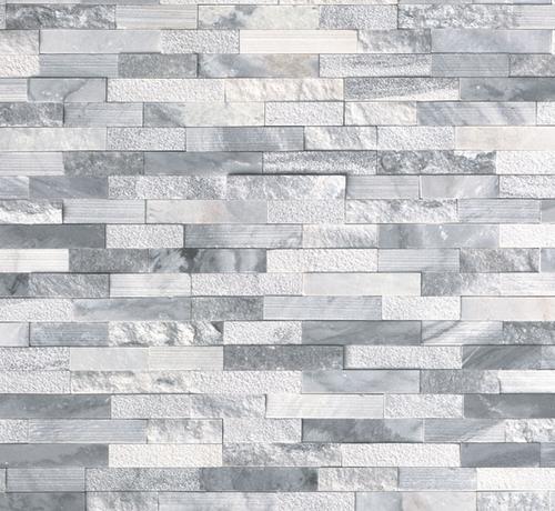 Crystal Cloud Multi-Finish Ledgerstone Panel 6x24