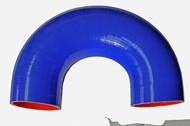 Blue 180* Silicone Hose Coupler