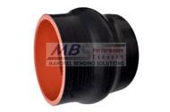 5-Ply Hi-Performance Black Silicone Hump Hose (Coupler)