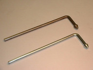 "Headed L Rod Hanger, 3/8"" Mild Steel"