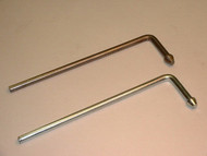 "Headed L Rod Hanger, 3/8"" Stainless Steel"