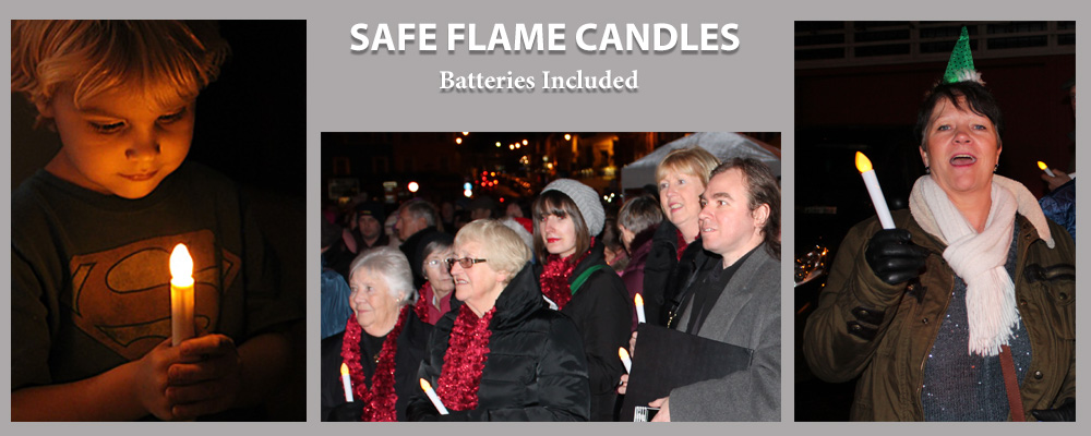 Safe Flame Candles
