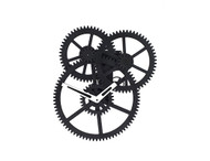 Kikkerland Designs - Triple Gear Wall Clock