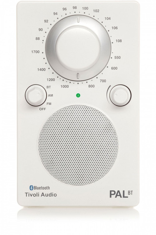 Tivoli Audio - PAL BT Bluetooth Radio - White