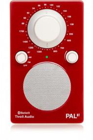 Tivoli Audio - PAL BT Bluetooth Radio - Red