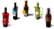 Tät Tat - Wine Bottle Garland - Assorted