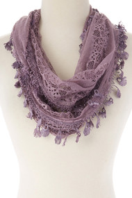 Lace Infinity Scarf (SP64DP)