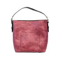 Classic Hobo Handbag Cabernet