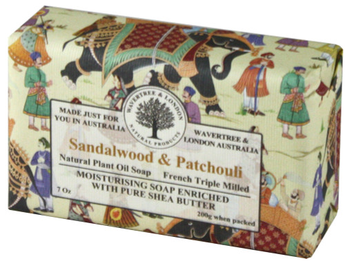 Wavertree & London Sandalwood & Patchouli Soap