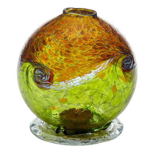 Kitras Van Glow Candle Dome, Gold - Lime