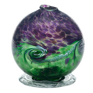 Kitras Van Glow Candle Dome, Purple - Green