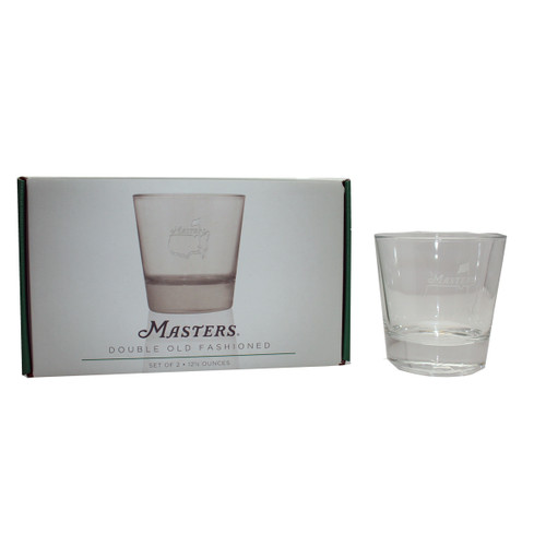Masters 12.5 oz. Double Old Fashioned Cocktail Glass - Set of Two