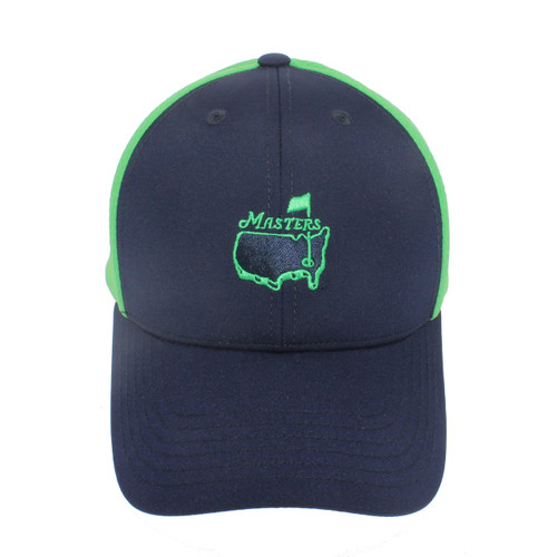 Masters Blue and Green Performance Hat