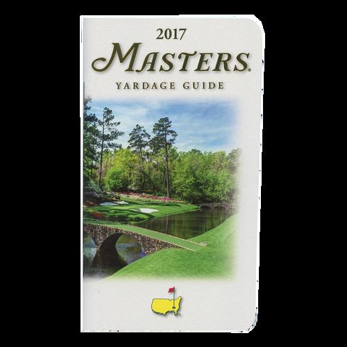 2017 Masters Yardage Guide