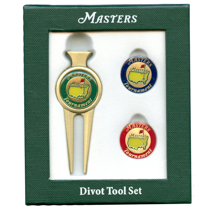 2017 Masters Divot Tool Set With Two Extra Ball Markers