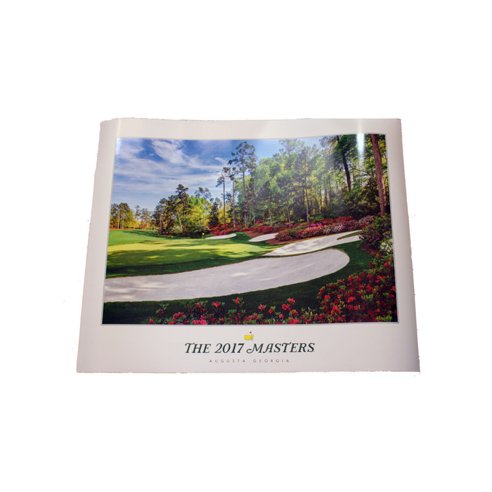 2017 Masters Poster