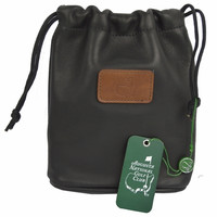 Masters Members Exclusive Black Leather Valuables Pouch