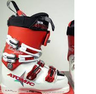 Atomic RT TI 130 Ski Boot - White/Red - 29.0 Mens 11.0